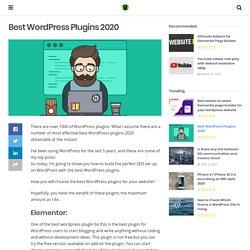 9 Best Wordpress Plugins for designers & freelancers