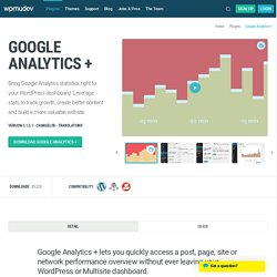 Google Analytics for WordPress MU - Sitewide AND single blog sol