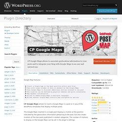 CP Google Maps