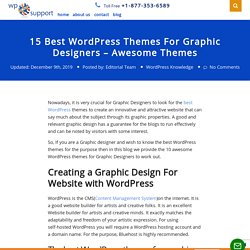 15 Best WordPress Themes For Graphic Designers - Awesome Themes