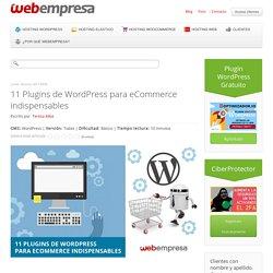 11 Plugins de WordPress para eCommerce indispensables
