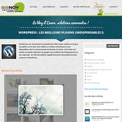 Wordpress : les meilleurs plugins (indispensables !)