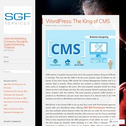 WordPress: The King of CMS
