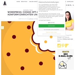 WordPress: Cookie-Opt-In DSGVO-konform einrichten und prüfen