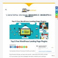 Top 5 Free WordPress Landing Page Plugins