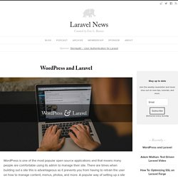 WordPress and Laravel