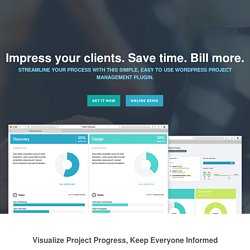 WordPress Project Management Plugin - Project Panorama