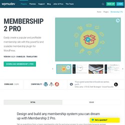 WordPress Membership Plugin - Abonnement