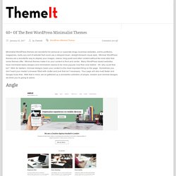 minimal themes from TopNotch
