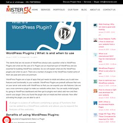 What is and when to use MisterSK Infotech