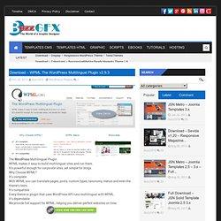 Download – WPML The WordPress Multilingual Plugin v2.9.3Buzz Theme