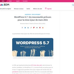 WordPress 5.7: les nouveautés prévues pour la mise à jour de mars 2021