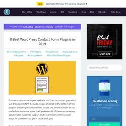 8 Best WordPress Contact Form Plugins in 2019 - OnlineRockersHub