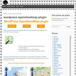 OpenStreetMap wordpress www.Fotomobil.at »plugin