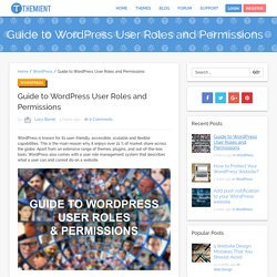 Guide to WordPress User Roles and Permissions - Themient