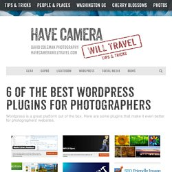 6 of the Best Wordpress Plugins for Photographers