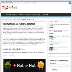 18 Best WordPress Poll Plugins for Adding Polls