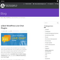 5 Best WordPress Live Chat Plugins for Best User Experience