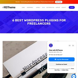 6 Best Wordpress Plugins for Freelancers