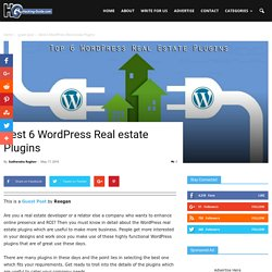 Best 6 WordPress Real estate Plugins - Hacking-Guide.com