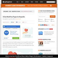 16 meilleurs plugins WordPress pour les organisations caritatives