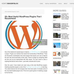 Top 18 most downloaded WordPress plugins ever