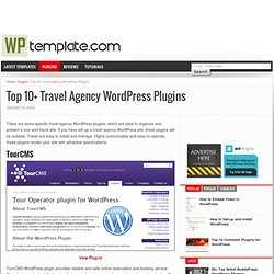 Travel Agency WordPress Plugins, Top 10+ Best WordPress Travel Agency Plugins
