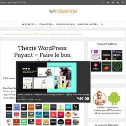 Thème WordPress Payant / Premium - Comment faire le bon choix ?