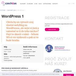WordPress pro začátečníky - Czechitas