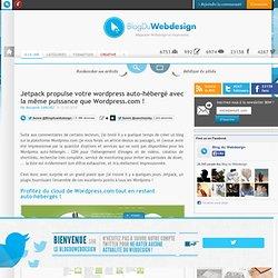 Jetpack propulse votre wordpress auto-hébergé avec la même puissance que Wordpress.com