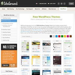 Free WordPress Themes - Professional WordPress Themes for Your S