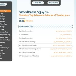 Wordpress Reference Guide 3.0+