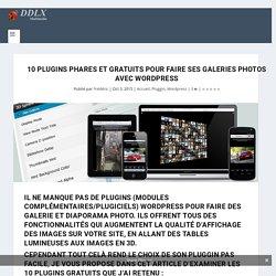 10 Plugins phares et gratuits pour faire ses galeries photos avec Wordpress - Expert Création site web et Référencement
