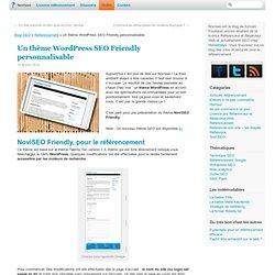 Un thème Wordpress bon pour le référencement