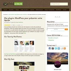 Des plugins WordPress pour présenter votre équipe