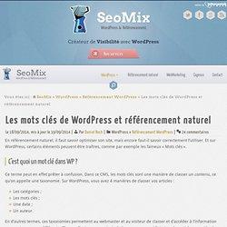 Les mots clés de WordPress et le référencement : le guide