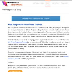 Viewport Free Wordpress Theme | NewWPThemes.net