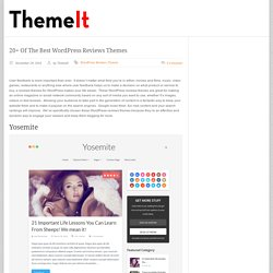 wordpress reviews themes
