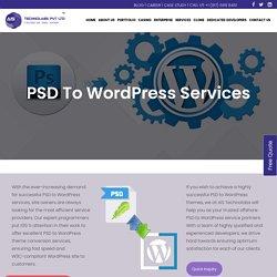 PSD To Wordpress Service - PSD To Wordpress Conversion Service