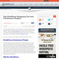 Top WordPress Shopping Cart & eCommerce Plugins | WordPress Plugins (Build 20120215223356)