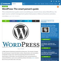WordPress: The smart person's guide