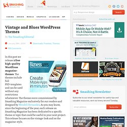 Vintage and Blues WordPress Themes - Smashing Magazine