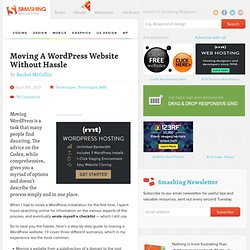 Step-By-Step Guide — Moving A WordPress Website Without Hassle