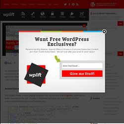 Handy WordPress Code Snippets for Your Themes Part 2