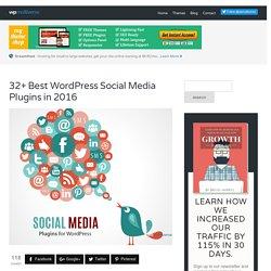 25+ WordPress Social Media Plugins 2016