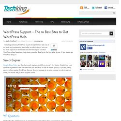 WordPress Support – The 10 Best Sites to Get WordPress Help