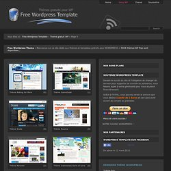 Free Wordpress Template - Theme gratuit Wordpress - Part 9