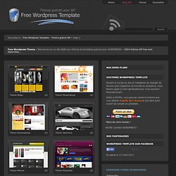 Free Wordpress Template - Theme gratuit Wordpress - Part 2