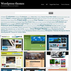 WordPress Themes and Templates. Free premium WordPress themes. Daily updates. Page - 154