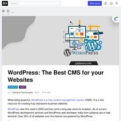 WordPress: The Best CMS for your Websites - DEV